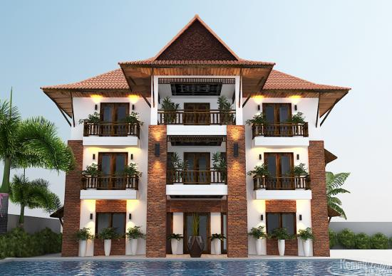 Khmer Exterior Hotel HT-K006 in Cambodia